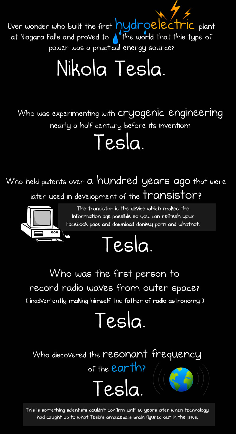 tesla5 Nikola Tesla Day: most genius geek in history