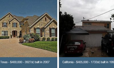 texas versus california homes