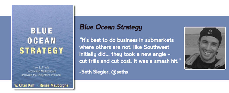 blue ocean strategy Top 15 must read business books