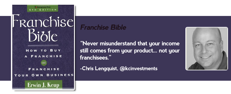 franchise bible Top 15 must read business books