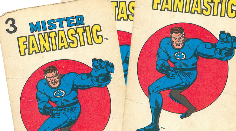 mister fantastic marvel card
