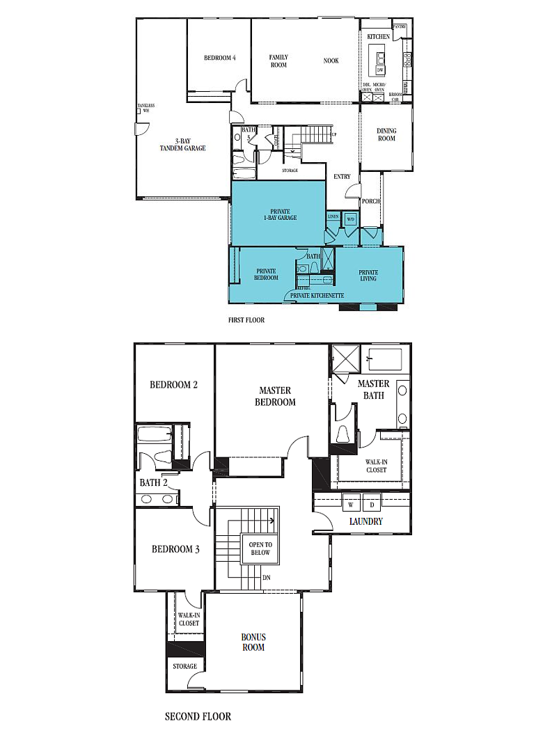 Multi generational home floor plans thefloors co for Multi generational home designs