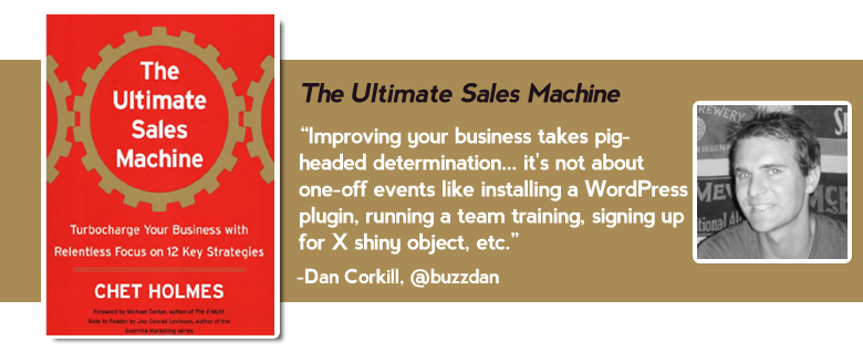 ultimate sales machine Top 15 must read business books