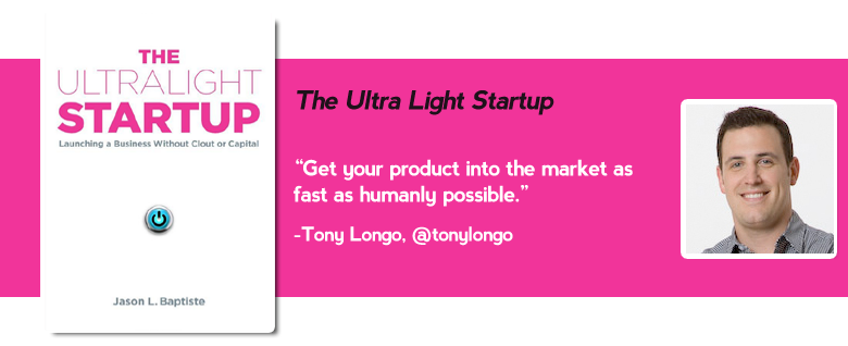 ultralight startup Top 15 must read business books