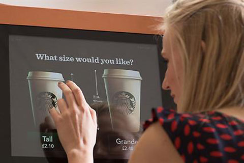 sbux Starbucks vending machines and the future of business