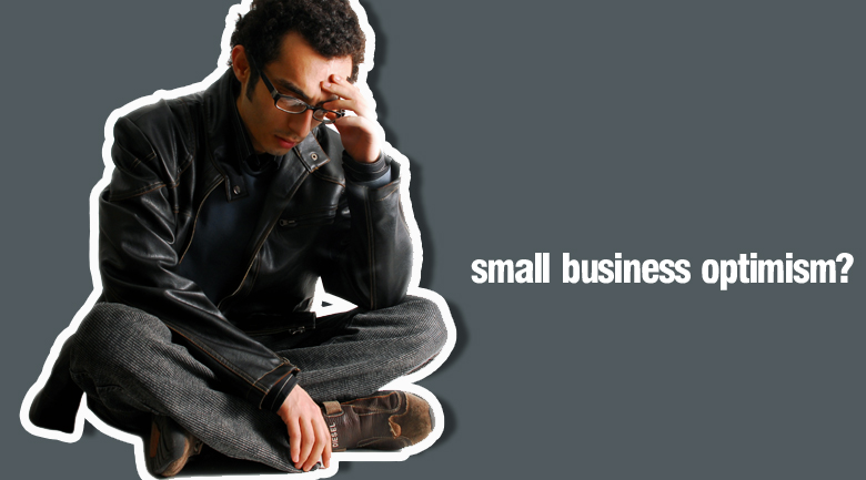 small business optimism Small business report shows few positive signs for the future