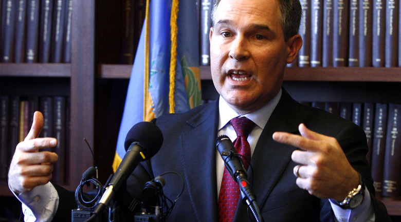 ag scott pruitt Oklahoma first to get national mortgage settlement payouts