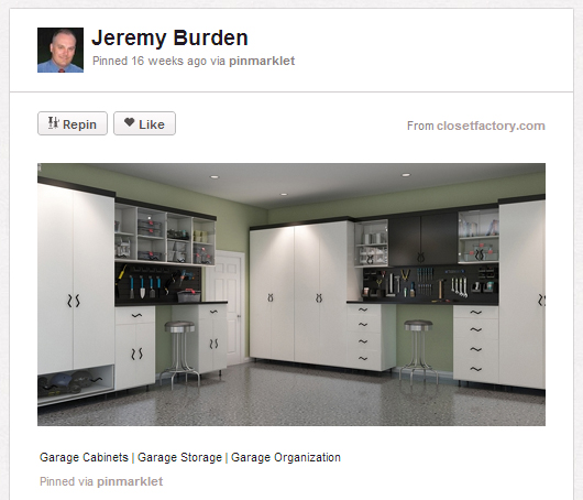 garage Home buyer must haves: Pinterest edition