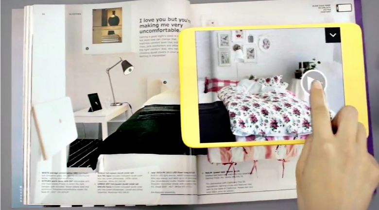 ikea augmented reality catalog You dont need IKEAs budget to try augmented reality