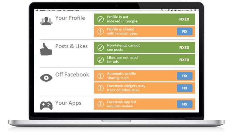 privacyfix web privacy tool