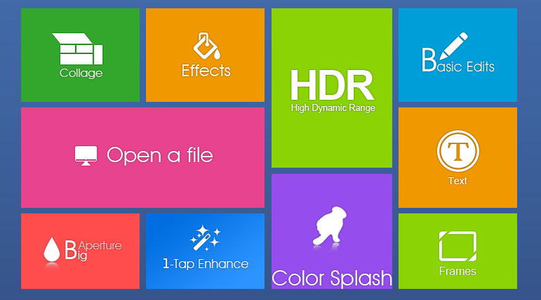 photo editing software  for windows 8