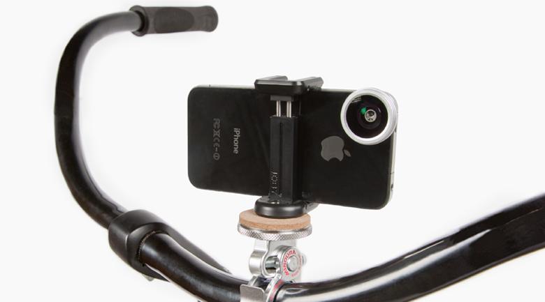 Bikepod Tripod Handlebar Mount For Cameras And Smartphones The