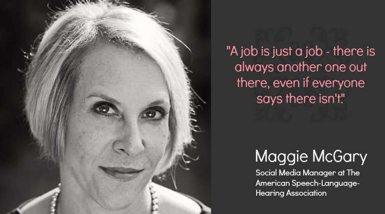 maggie mcgary Career advice to millennials: a job is just a job, just get started