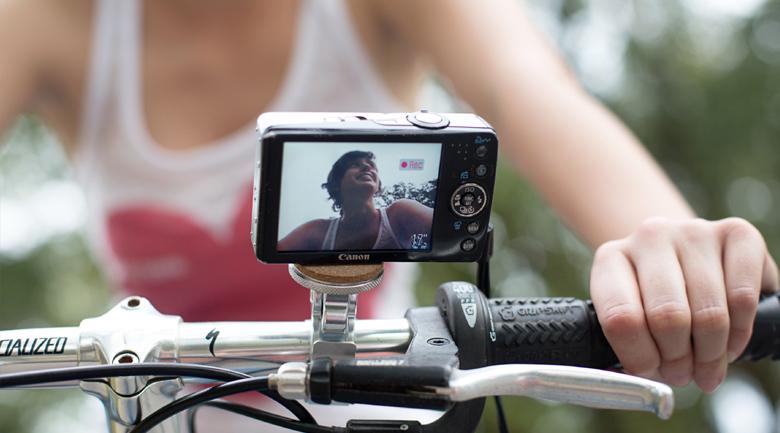 camera bike tripod