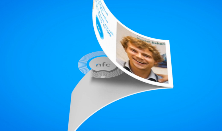 business card technology