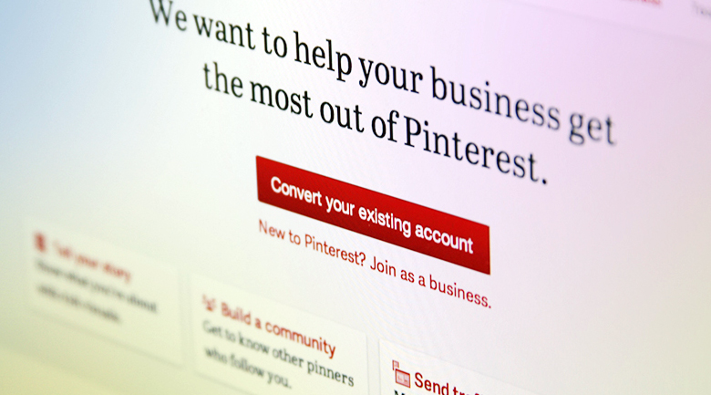 pinterest for business Pinterest formally opens its doors to business users