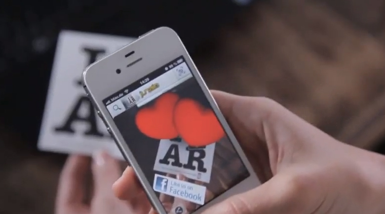 augmented reality AR Metaio: create an augmented reality campaign in seconds
