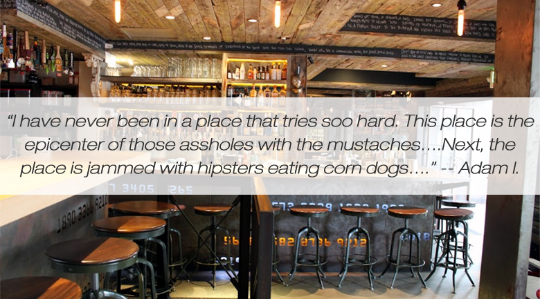 craft and commerce san dieg1 Restaurant revels in bad Yelp reviews, plays audio versions to diners