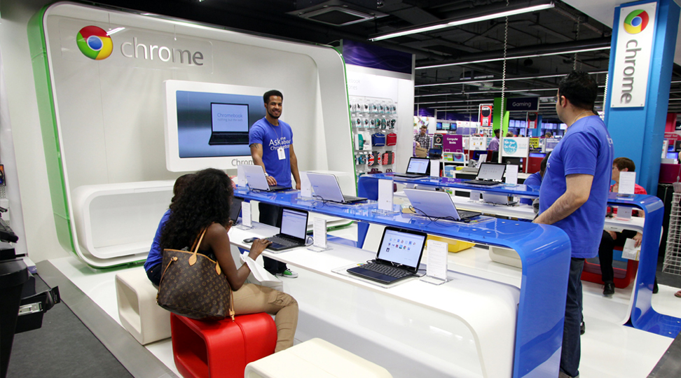 google retail stores