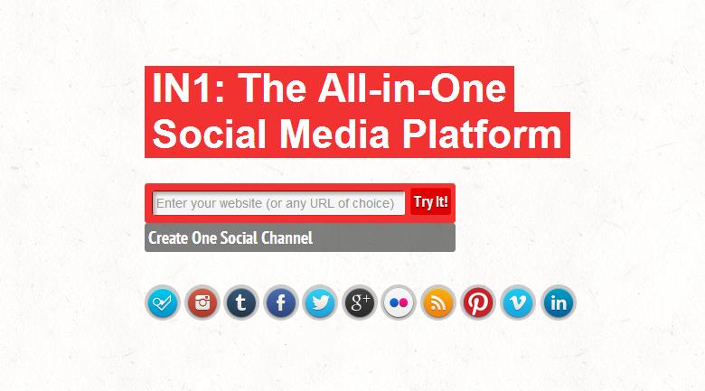 in1 social media platform