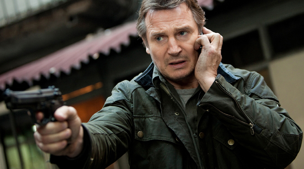 liam neeson Facebook, thanks for taking us all hostage and laughing