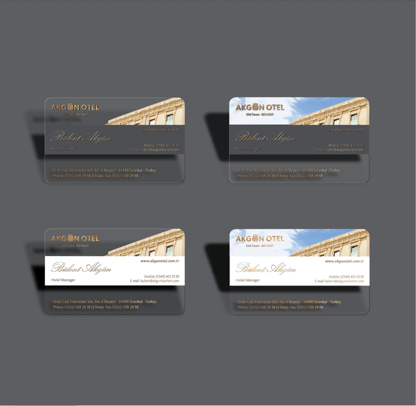 trifold business cards