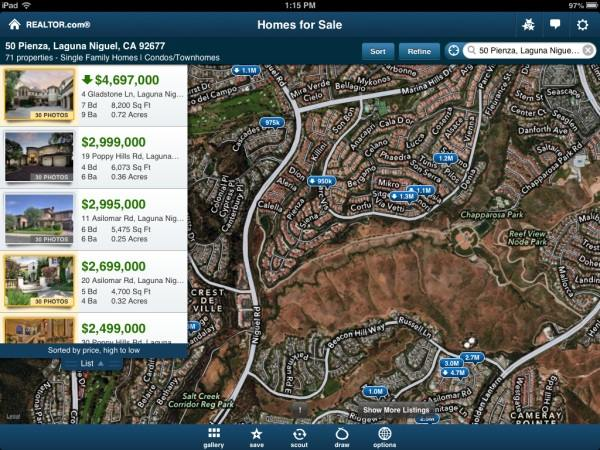 realtorcomapp Updated Realtor.com app subtly slams competitors weaknesses