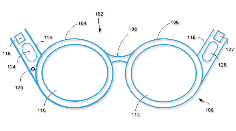 google patent glass Google patent seeks to use your skull as a speaker