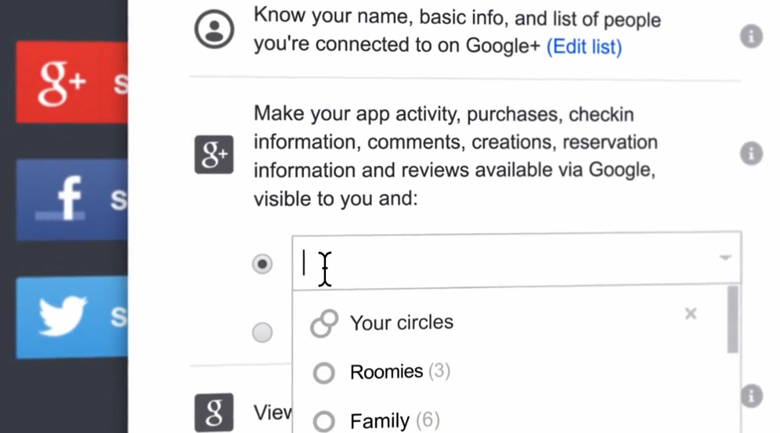 google+ sign in
