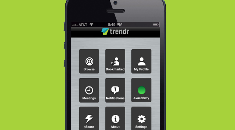 trendr Trendr: popular app for meeting professionals face to face