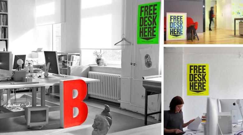 free desk movement