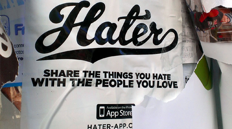 hater app