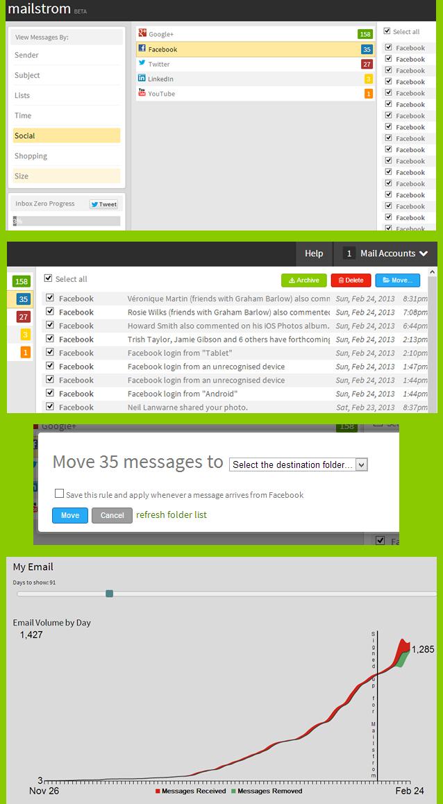 mailstrom screenshots