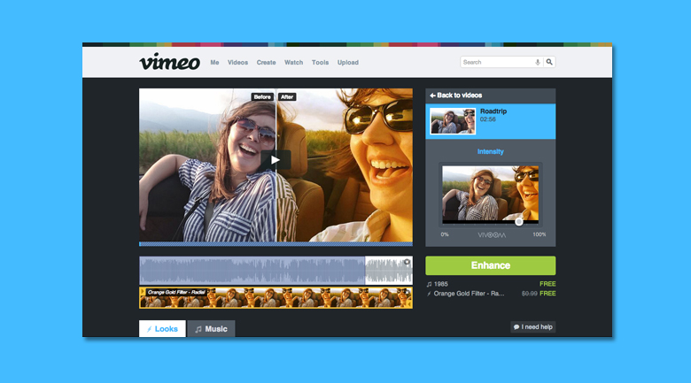 vimeo video effects