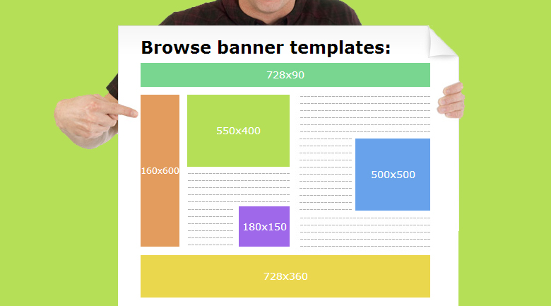 fotor banner template