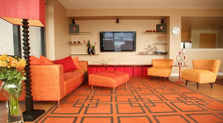 graphic patterns interior design