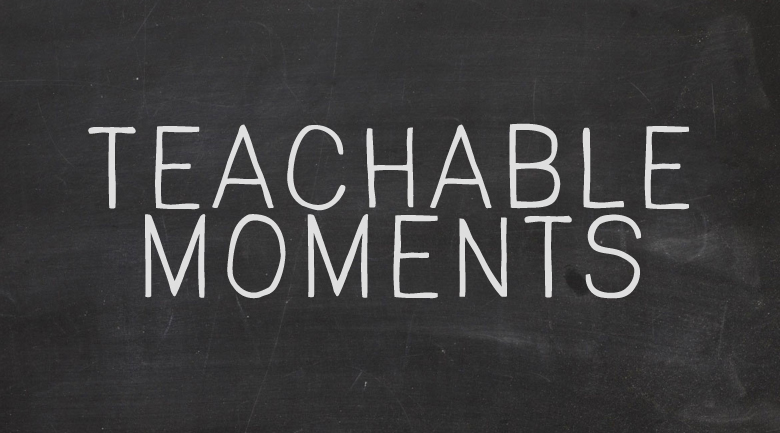 teachable moments in public relations