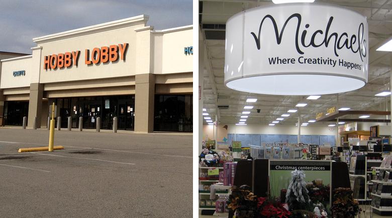 hobby lobby michael's