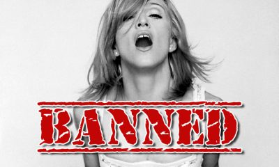 madonna banned