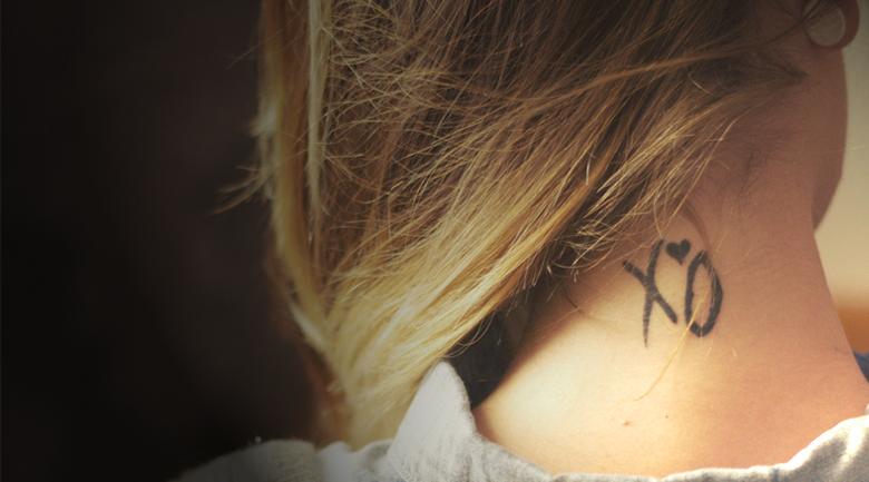 neck tattoo motorola