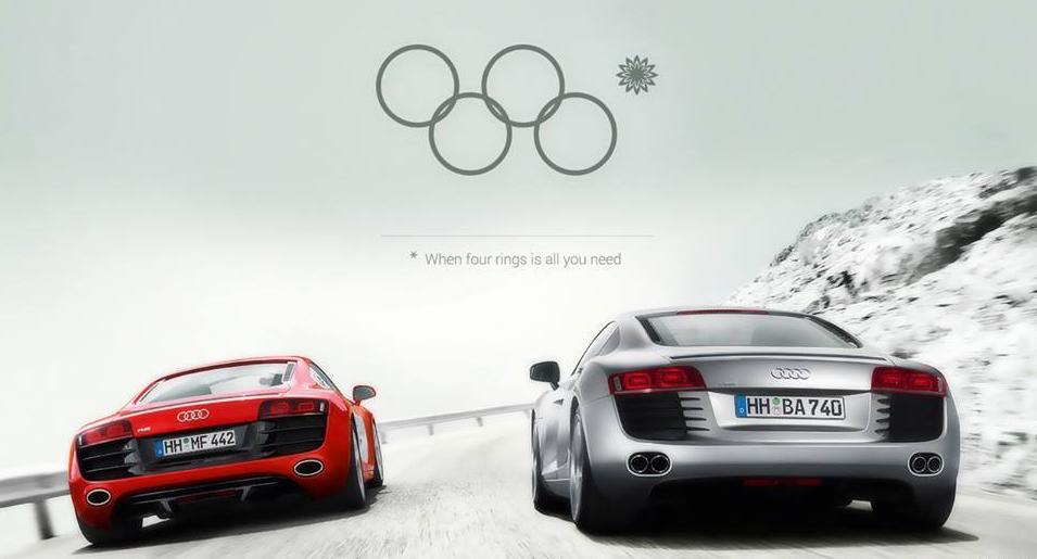 olympic audi ad