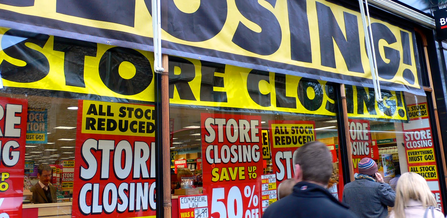 store closings retail apocalypse