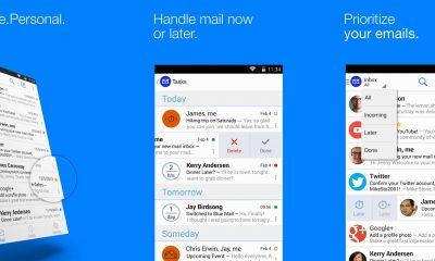 blue mail