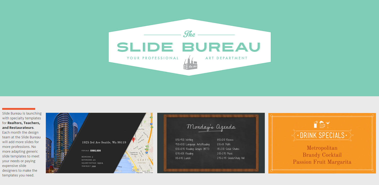 slide bureau