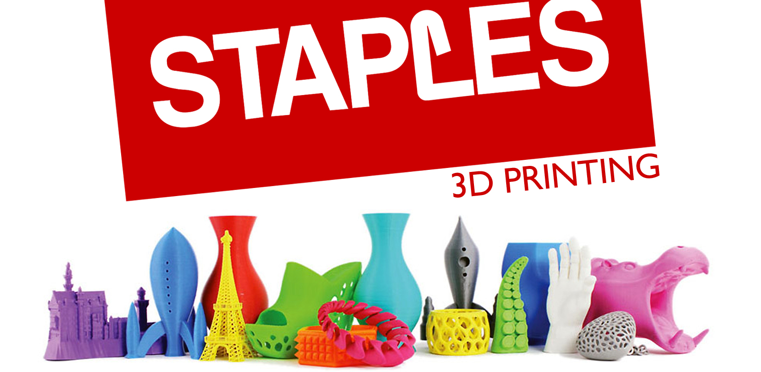 staples to pilot 3d printing in select stores the american genius