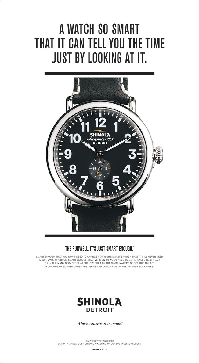 shinola vs. smartwatches
