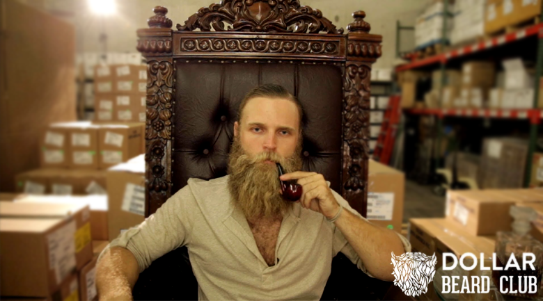 dollar beard club launches for lumbersexuals parodies dollar shave club the american genius. Black Bedroom Furniture Sets. Home Design Ideas