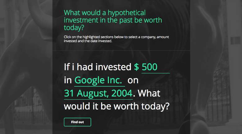 hypothetical investment tool