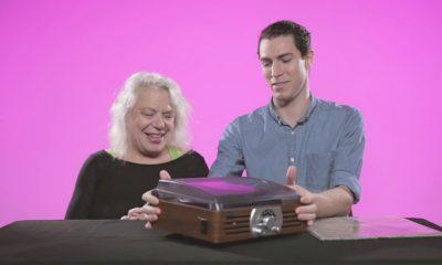 grandparents teach old technologies