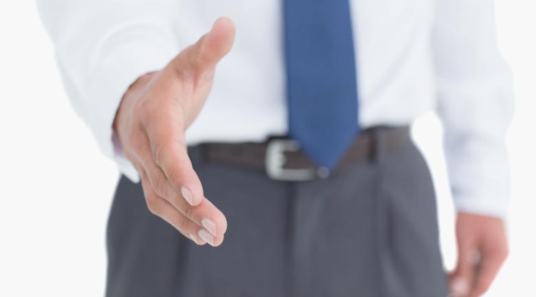 impression manners static job offer interview handshake